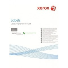Наклейка Xerox Mono Laser 18UP (rounded) 63.5x46.6mm 100л.