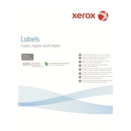 Наклейка Xerox Mono Laser 4UP (squared) 105x149mm 100л.