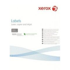 Наклейка Xerox Mono Laser 16UP (squared) 105x37mm 100л.