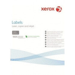 Наклейка Xerox Mono Laser 24UP (rounded) 64x34mm 100л.