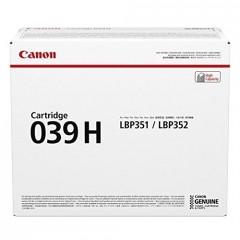 Картридж Canon 039H LBP351/352 Black (25000 стр)