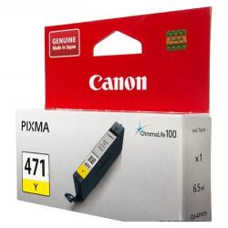 Картридж Canon CLI-471Y PIXMA MG5740/MG6840 Yellow