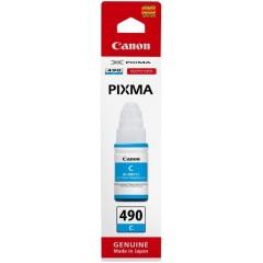 Чернила Canon GI-490 PIXMA G1400/G2400/G3400 Cyan 70ml