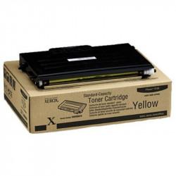 Тонер картридж Xerox PH6100 Yellow