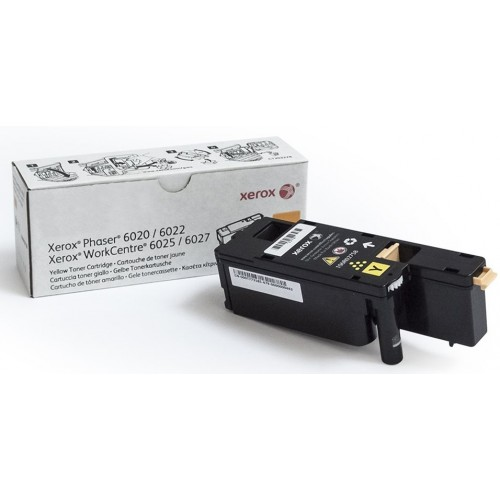 Картридж Xerox Phaser 6020/6022/WC6025/6027 Yellow