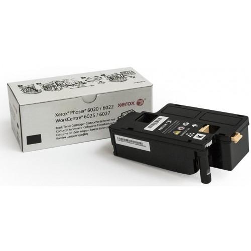 Картридж Xerox PH6020/6022/WC6025/6027 Black (2000 стр)