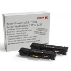 Картридж Xerox Phaser P3052/3260/WC3215/3225 Dual Pack (6K)