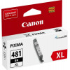 Canon CLI-481C XL Black