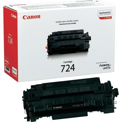 Картридж Canon 724 LBP6750/6780/MF512/513 Black (6000 стр)
