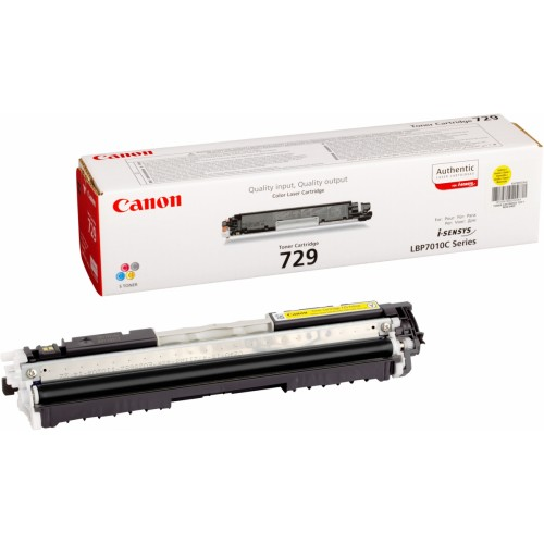 Картридж Canon 729 LBP-7018С/7010С Yellow