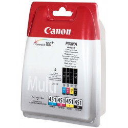 Картридж Canon CLI-451 Cyan/Magenta/Yellow/Black Multi Pack