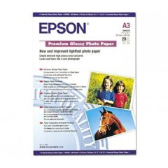 Бумага Epson A3 Premium Glossy Photo Paper, 20л.