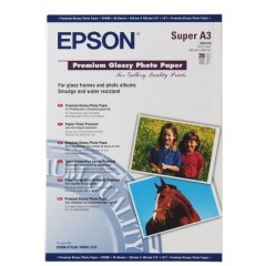 Бумага Epson A3+ Premium Glossy Photo Paper, 20л.