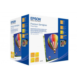 Бумага Epson 100mmx150mm Premium Semiglossy Photo Paper, 500л.