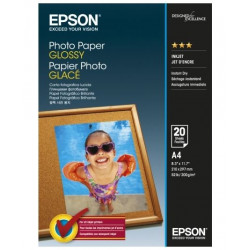 Бумага Epson Glossy Photo Paper A4 20 л