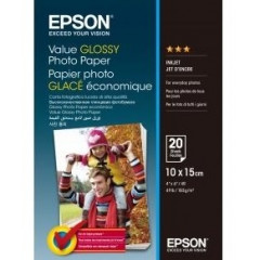 Бумага Epson 100mmx150mm Value Glossy Photo Paper 20 л.