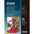 Бумага Epson 100mmx150mm Value Glossy Photo Paper 50 л.