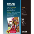 Бумага Epson 100mmx150mm Value Glossy Photo Paper 100 л.