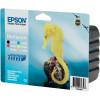 Картридж Epson StPhoto R200/220/300/320/340, RX500/600/620/640 Bundle (Bk,C,M,Y,Lc,Lm) - Фото №2