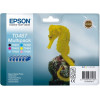 Картридж Epson StPhoto R200/220/300/320/340, RX500/600/620/640 Bundle (Bk,C,M,Y,Lc,Lm) - Фото №9