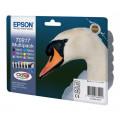 Картридж Epson StPhoto R270/R290/R390/RX590/RX610/RX690/1410, 11мл Bundle (Bk,C,M,Y,LC,LM)