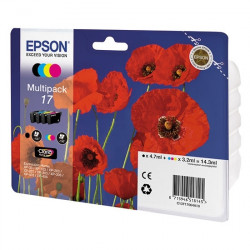 Картридж Epson 17 XP103/203/207 Bundle (C,M,Y,Bk)
