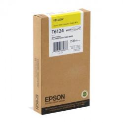 Картридж Epson StPro 7400/7450/9400/9450 yellow, 220мл - Фото №1