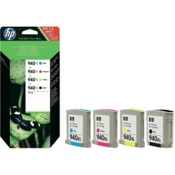 Картридж HP No.940XL Black/Cyan/Magenta/Yellow Combo Pack