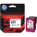 Картридж HP No.651 DJ Ink Advantage 5575/5645/OfficeJet 202 Tri-color (300 стр)