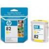 Картридж HP No.82 DesignJ500/800 yellow