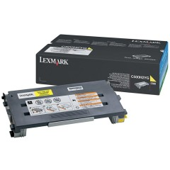 Картридж Lexmark C500n/X500n/X502n Yellow High Yield 3k