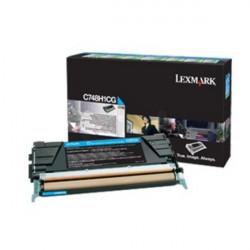 Картридж Lexmark C748 Bid Program Cyan 10k