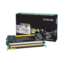 Картридж Lexmark C748 Bid Program Yellow 10k