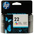 Картридж HP No.22 DJ3920/3940, PSC1410 color, 5 ml