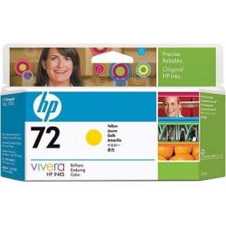 Картридж HP No.72 DJ T610/T1100/T790 yellow, 130 ml