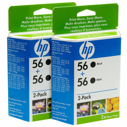 Картридж HP No.56 Black 2-pack