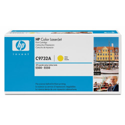 Картридж HP CLJ5500 yellow