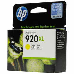 Картридж HP No.920XL OJ6000/6500/7000/7500 yellow