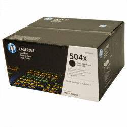 Картридж HP CLJ CM3530/CP3525 series black max DUAL PACK