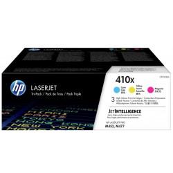 Картридж HP 410X CLJ Pro M377/M452/M477 (CF411X,CF412X,CF413X) CYM (3*5000 стр) Тройная упаковка