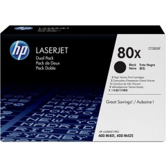 Картридж HP LJ 80X M425dn/M425dw/M401a/M401dn/ M401dw DUAL PACK