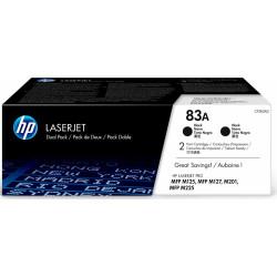 Картридж HP 83A LJ M201dw/n/M125a/nw/r/ra/rnw/ M127fn/fw/M225dn/dw/rdn Black Dual Pack