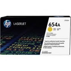 Картридж HP LJ 654A Yellow