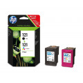 Картридж HP No.121 Black/Tri-color Combo Pack