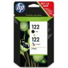 Картридж HP No.122 Black/Tri-color Combo Pack