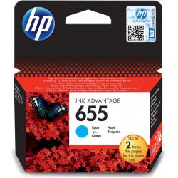 Картридж HP No.655 DJ 4615/4625/3525/5525 Cyan