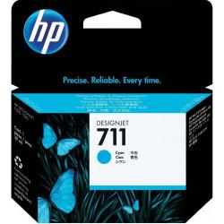 Картридж HP No.711 DesignJet 120/520 Cyan