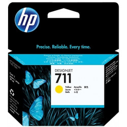 Картридж HP No.711 DesignJet 120/520 Yellow - Фото №1