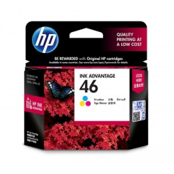 Картридж HP No.46 Ultra Ink Advantage Tri-color