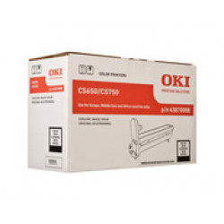 DRUM UNIT OKI (C5650_5750) 43870008 BLACK